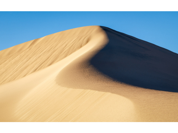 The Mesquite Flat Sand Dunes in Death Valley National Park